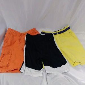 Boys Size 8 Shorts Lot of 3